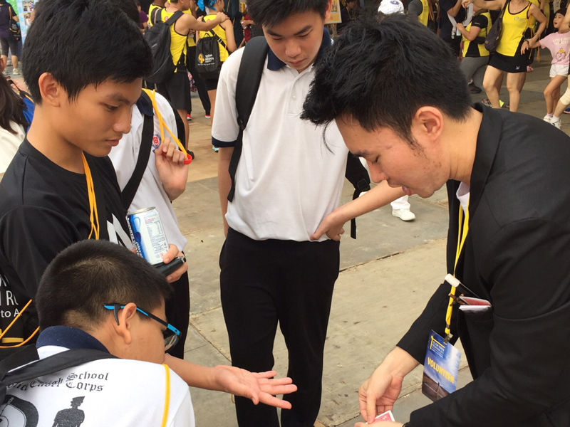 Roving Magic Performance for Yellow Ribbon Project 2015.